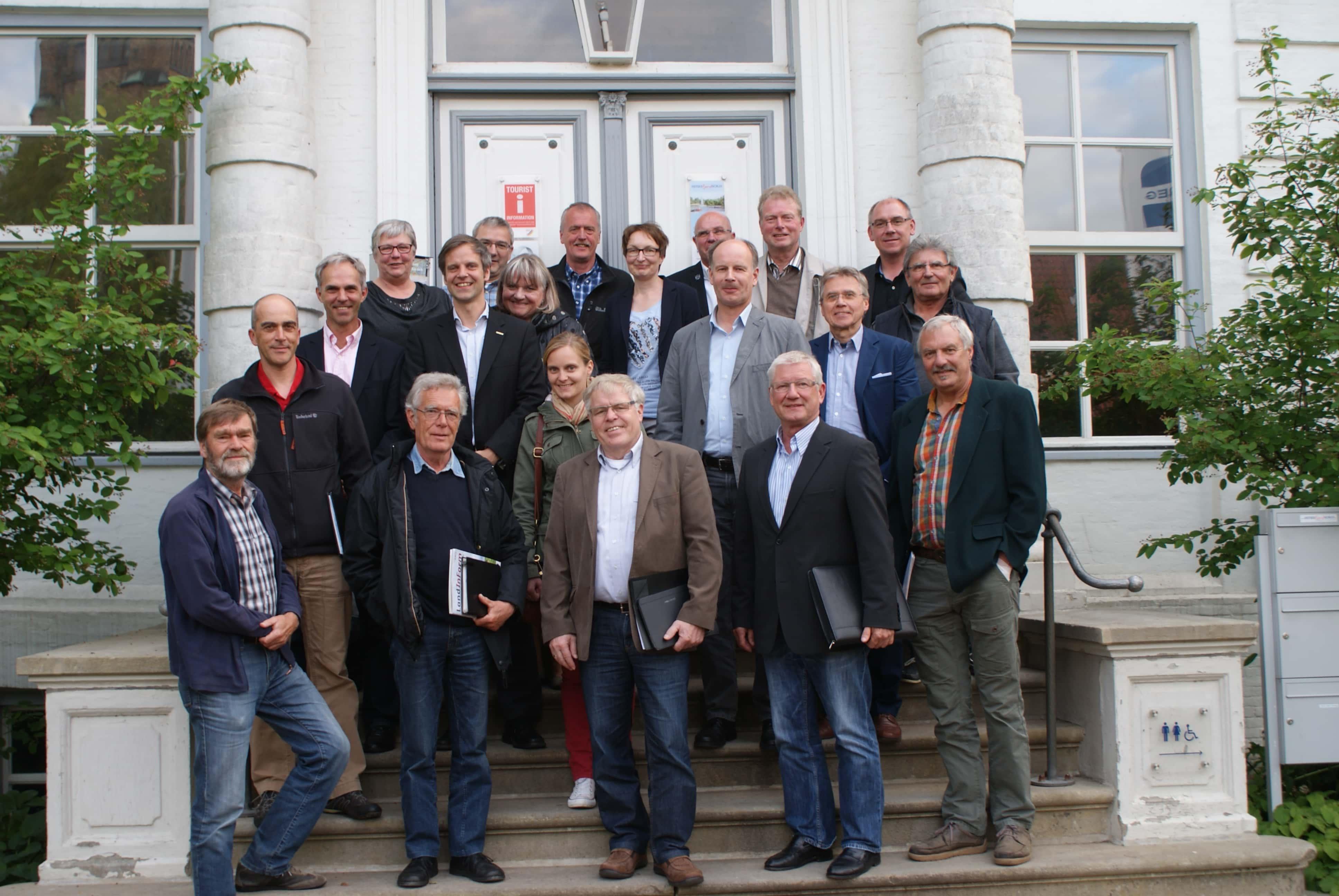 Teilnehmer der Arbeitskreissitzung Wachstum und Innovation am 06.08.2015