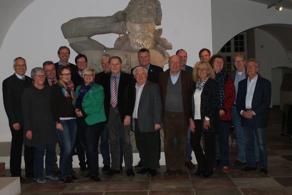 Vorstandsmitglieder und Gäste am 10.12.2015
