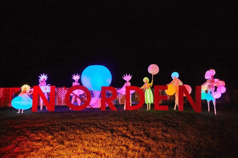 """Durchführung einer Marketingkampagne zur Einführung des """"nordic arts Festivals NORDEN"""" in Schleswig für die Jahre 2018 und 2019"""